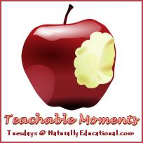 Teachable Moments Tuesdays Tuesdays at NaturallyEducational.com
