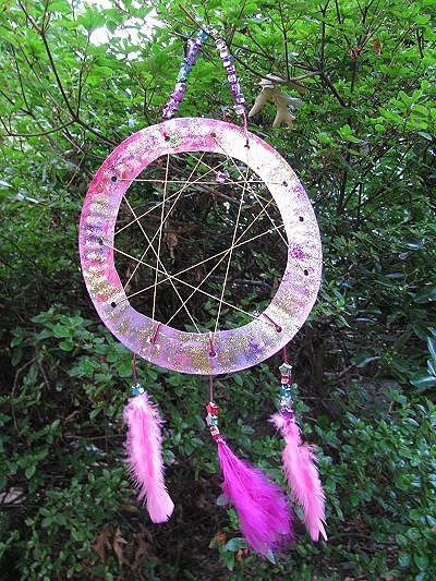 dream catcher finished