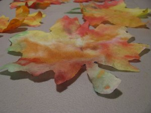 Falling Leaves Drying