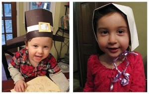 Pilgrim Hat and Bonnet