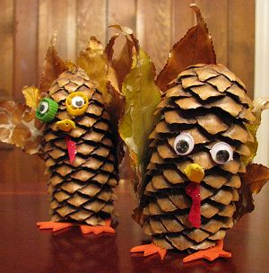 Pinecone Turkey Finished 1