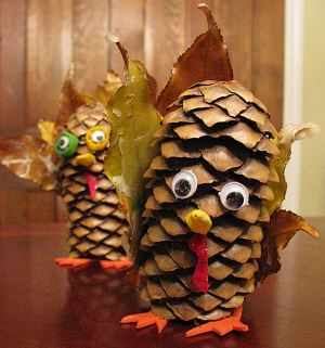Pinecone Turkey Finished 2