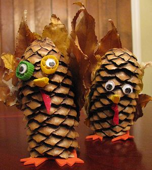 Pinecone Turkey Finished 3