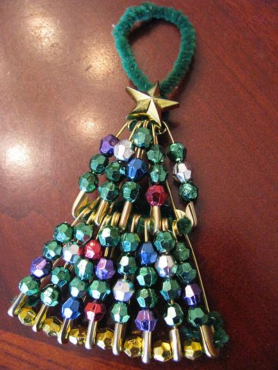 Christmas Tree Ornament – On Pins and Needles!