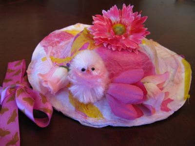 DIY Easter Bonnet Craft for Kids