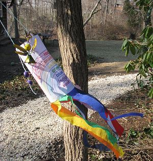 Rainbow Windsock Toddler and Preschooler Craft