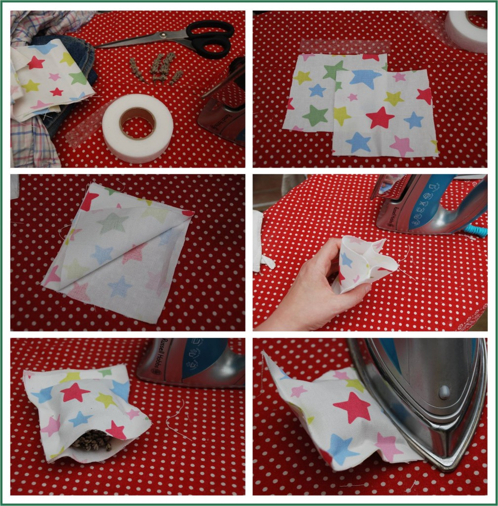 Lavender No Sew Sachet How-To