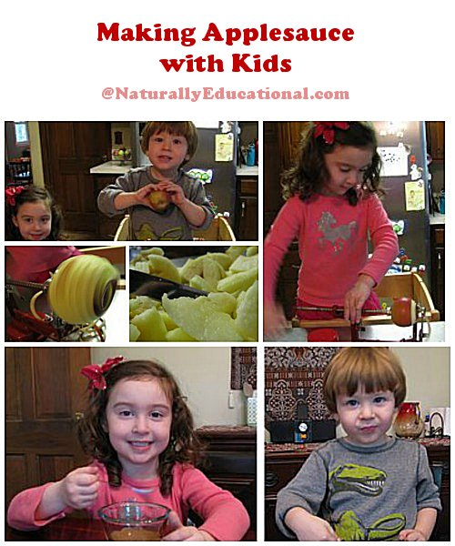 Making Applesauce with Kids Naturally Educational