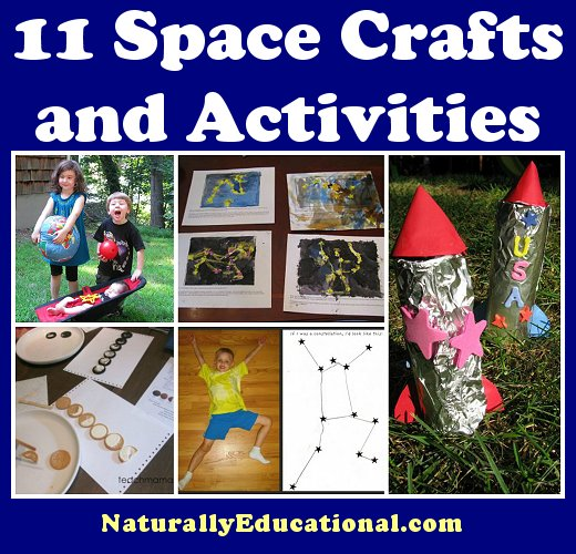 Space Crafts and Activities on NaturallyEducational