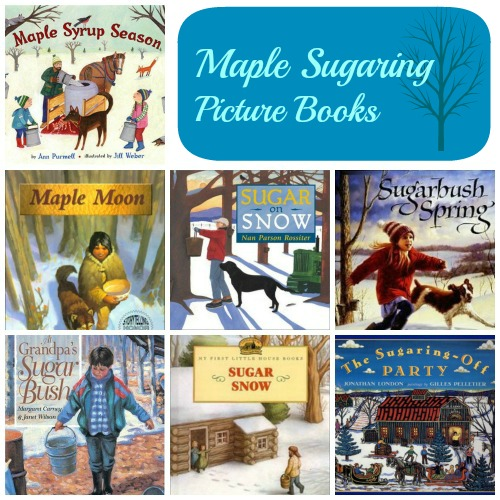 Maple Syrup Sugaring Books