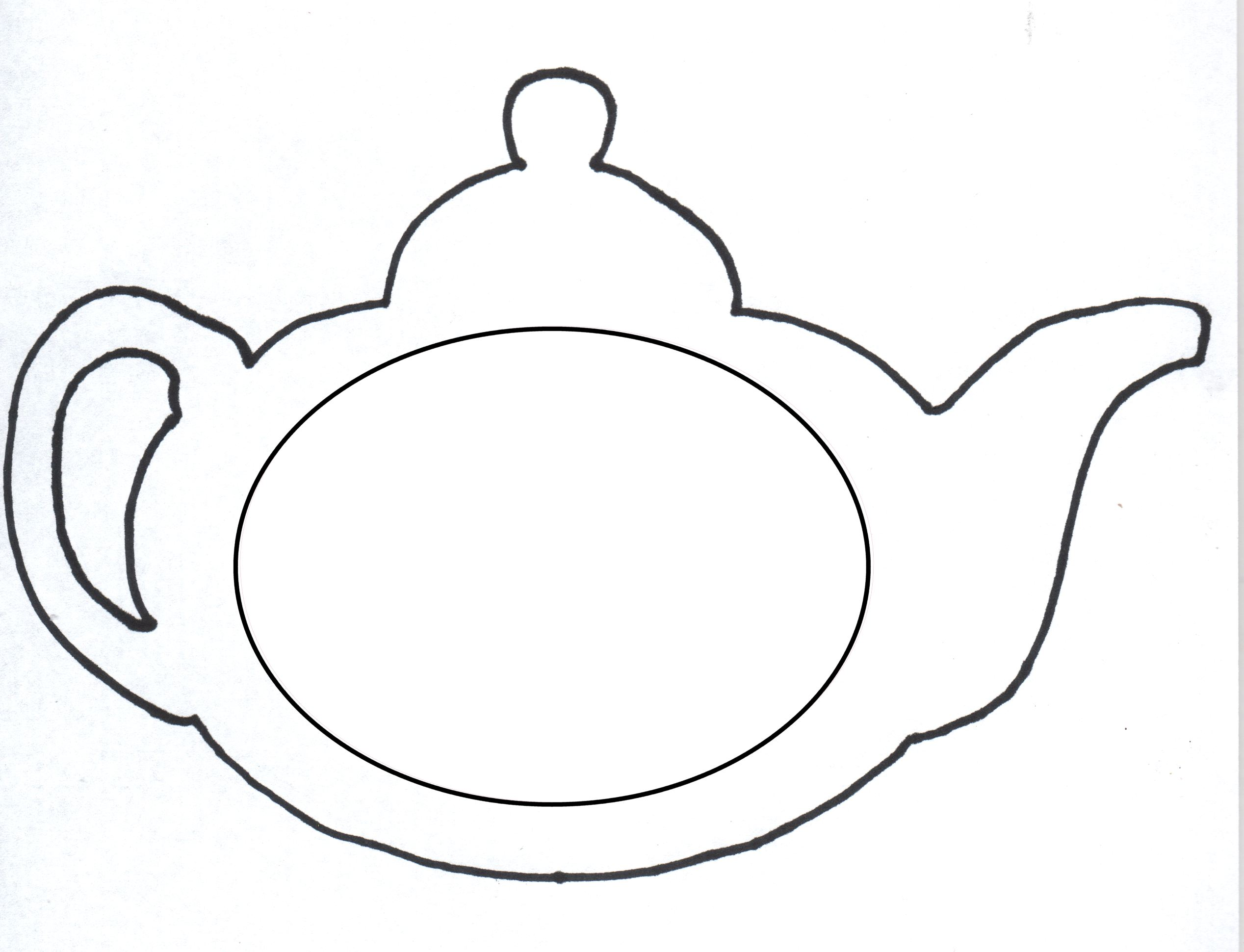 printable tea cup coloring pages - photo#29