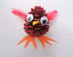 Pine Cone Bird Craft
