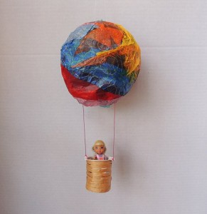 Hot Air Balloon Craft – Inspired by American Girl Saige