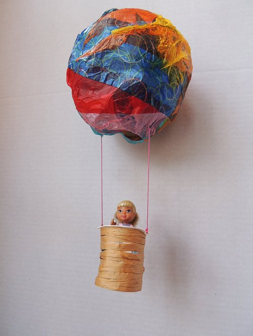 Papier Mache Hot Air Balloon Naturally Educational 3