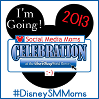 Disney Social Media Mom 2013 Button