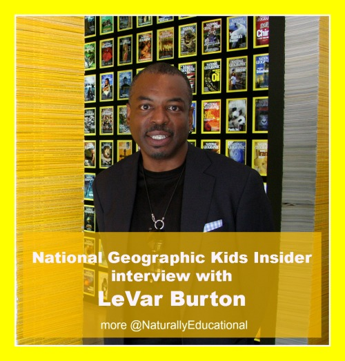 LeVar Burton Reading Rainbow App National Geographic Kids Insider Interview