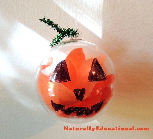 Jack O' Lantern Ornament WM
