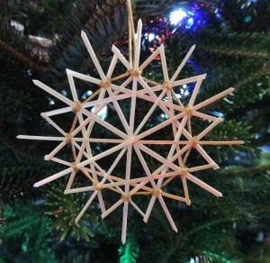 German Straw Star Ornaments