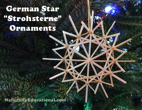 German Straw Stars