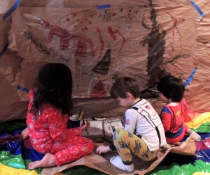 Cave Painting with Kids – Prehistoric Art