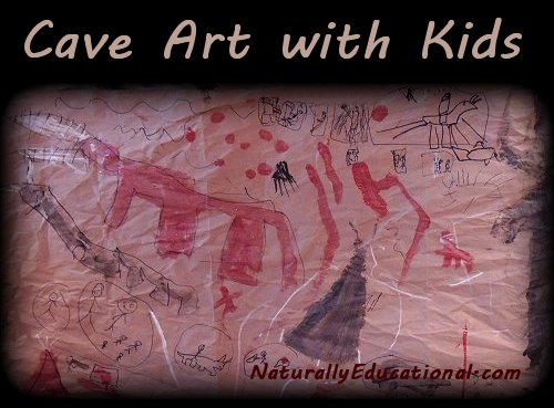 Painting Cave Art with Kids