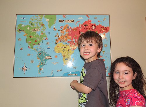 Wallpops World Map Dry Erase Review 2