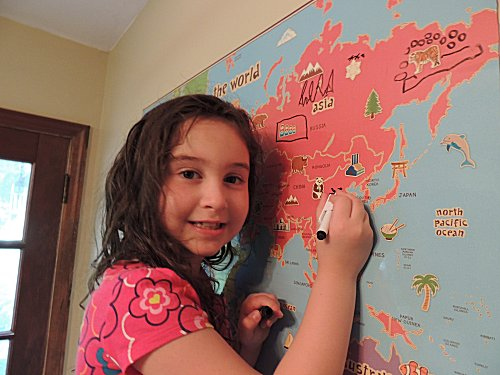 Wallpops World Map Dry Erase Review