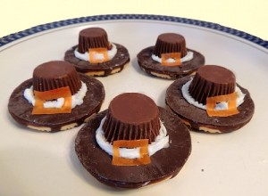 Pilgrim Hat Treats for Thanksgiving