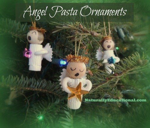 Angel Past Ornaments Naturally Educational